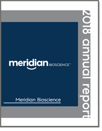 MERIDIAN BIOSCIENCE INC 2018 Annual Report
