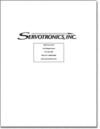 SERVOTRONICS INC 2018 Annual Report