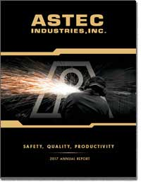 ASTEC INDUSTRIES INC 2017 Annual Report