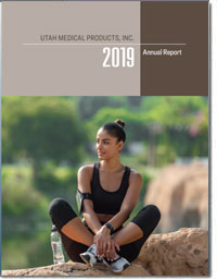 UTAH MEDICAL PRODUCTS INC 2018 Annul Report