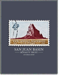 SAN JUAN BASIN ROYALTY TRUST 2016 Annual Report