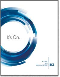 B C E INC 2016 Annual Report