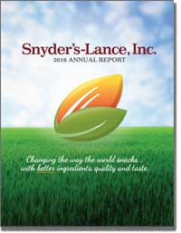 SNYDER'S-LANCE INC 2016 Annul Report