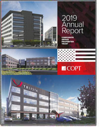 CORPORATE OFFICE PROPERTIES TRUST  2018 Annul Report