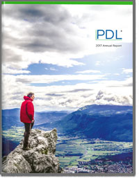PDL BIOPHARMA INC 2017 Annual Report