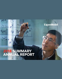 EXXON MOBIL CORPORATION 2018 Annual Report