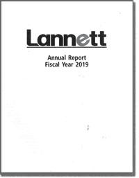 LANNETT CORPORATION 2017 Annul Report