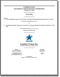 LANDSTAR SYSTEM INC 2016 Annual Report