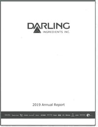 DARLING INGREDIENTS, INC 2018 Annual Report