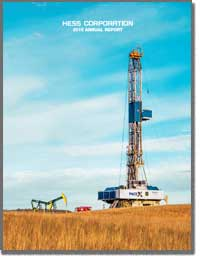 HESS CORP 2016 Annual Report