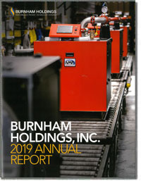 BURNHAM HOLDINGS INC 2018 Annual Report