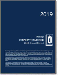 BARINGS  CORPORATE INVESESTORS 2016 Annual Report