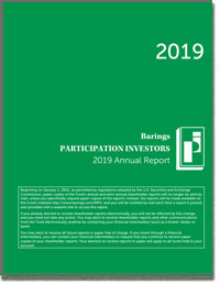 BARINGS PARTICIPATION INVESTORS 2016 Annual Report