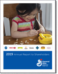 GENERAL MILLS INC 2019 Annul Report