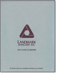 LANDMARK BANCORP INC 2016 Annual Report