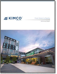 KIMCO REALTY CORP 2016 Annual Report