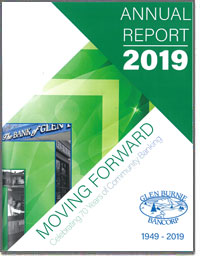 GLEN BURNIE BANCORP 2018 Annual Report