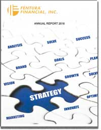 FENTURA FINANCIAL INC 2016 Annual Report