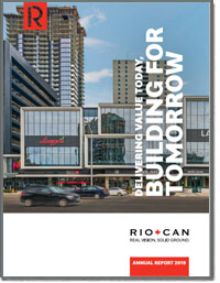 RIOCAN REAL ESTATE INVESTMENT 2018 Annual Report