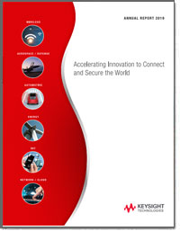 KEYSIGHT TECHNOLOGIES 2018 Annual Report